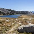 Looking back to Lower Gaylor Lake.- Gaylor Lakes Basin