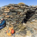 Another intact structure at the Great Sierra Mine.- Gaylor Lakes Basin