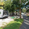 RV camping at River's End.- River's End Campground