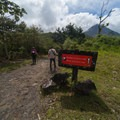The trail is well marked.- Sendero Arenal 1968 Trail