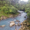 River just downstream from the park.- Rio Celeste