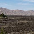 The great lava flow from the side of Broken Top.- Broken Top Loop Hike