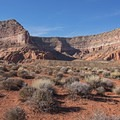 Part of Fifty Mile Canyon.- Hole in the Rock Road