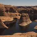 Reflection Canyon.- Hole in the Rock Road