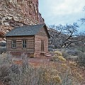 The restored schoolhouse.- Historic Town of Fruita