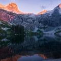 The sunsets over upper Hamilton Lake are pure magic.- Hamilton Lake