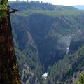 Add about an extra half mile to your trip by walking on the dirt road past the Osprey Falls turn-off. Catch this seldom seen view of Osprey Falls.- Osprey Falls