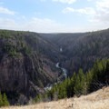 Sheepeater Canyon is Yellowstone's lesser known canyon.- Osprey Falls