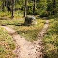 Hiking at Hominy Creek Greenway.- Hominy Creek Greenway