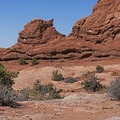 There are newborn arches here all over the area.- The Garden of Eden and Owl Rock