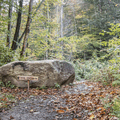 The Burrough's Range Trailhead.- Wittenberg + Cornell Mountains