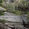 Steep rocks up to the summit.- Wittenberg + Cornell Mountains