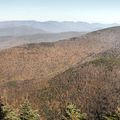The Catskill Mountains to the northeast.- Slide, Cornell + Wittenberg Mountains