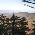 A view of the Catskill from the descent.- Slide, Cornell + Wittenberg Mountains