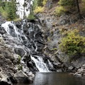 Fall water flow at Goose Creek Falls.- Goose Creek Falls