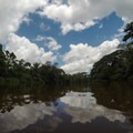 Cloudy summer skies.- Caño Negro Wildlife Refuge