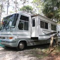 Typical site in Wekiwa Springs State Park Campground.- Wekiwa Springs State Park Campground