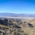 Views over Panamint Valley.- Towne Peak + Plane Wreck Site