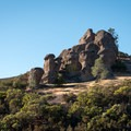 The Carousel, Pinnacles National Park.- Climbing West of the Reservoir