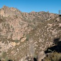 Deserted Valley, Pinnacles National Park.- Climbing West of the Reservoir