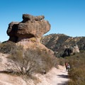 The Anvil, Pinnacles National Park.- Climbing West of the Reservoir