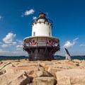 The light.- Spring Point Ledge Lighthouse