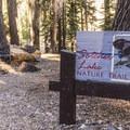 Sotcher Lake Trailhead and picnic area.- Sotcher Lake
