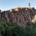 Discovery Wall, Pinnacles National Park.- Discovery Wall