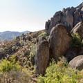 High Peaks boulders.- High Peaks Climbing