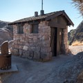 A latrine at the juncture of the High Peaks Trail and the Tunnel Trail at the southern end of the High Peaks.- High Peaks Climbing