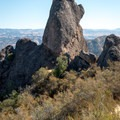 The Flatiron, a highly recognizable High Peaks formation.- High Peaks Climbing