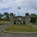 Entrance to Fort Negley.- Fort Negley