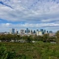 Great views of downtown Nashville.- Fort Negley