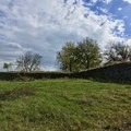 Lots of stonework in the fort.- Fort Negley