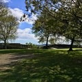 Pretty area at the center of the fort.- Fort Negley