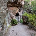 The Moses Spring Trail, Pinnacles National Park.- Moses Spring Trail