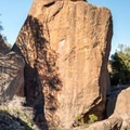 The south face of The Monolith in Pinnacles National Park.- The Monolith