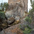 The north face of The Monolith in Pinnacles National Park.- The Monolith