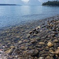 Clear Waters on Jackson Lake.- Jackson Lake via Colter Bay Marina