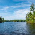 Pawtuckaway Lake.- Pawtuckaway State Park Campground