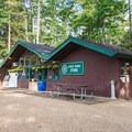 Campground store.- Pawtuckaway State Park Campground