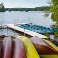 Boat rentals are available from the campground store.- Pawtuckaway State Park Campground