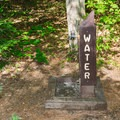 Potable water is available at the campground. - Bear Brook State Park Campground