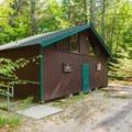 Restrooms.- Bear Brook State Park Campground