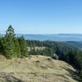 View of the Willamette Valley and Cascades from Horse Rock Ridge.- Horse Rock Ridge