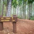 The trail starts at the Wa'ahila Ridge State Recreation Area.- Mount Olympus / Awāwaloa