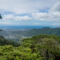 Amazing views of downtown and Mānoa Valley.- Mount Olympus / Awāwaloa