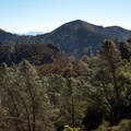 Views approaching the High Peaks, Pinnacles National Park.- Tunnel Trail