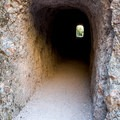 The namesake tunnel on Tunnel Trail, Pinnacles National Park.- Tunnel Trail