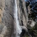 Yosemite Falls from the Upper Yosemite Falls Trail.- North Dome via Yosemite Falls